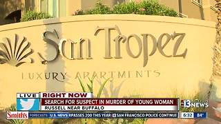 Woman killed Thursday night at San Tropez apartments