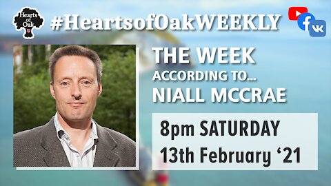 The week according to Niall McCrae 13.2.21