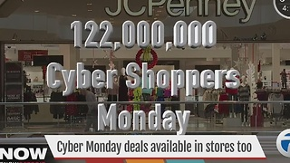 Cyber Monday deals also available in stores - Video