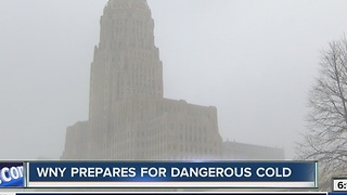 WNY prepares for dangerous cold - Video