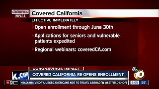 Covered California re-opens enrollment