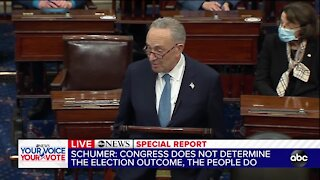 Senate Minority Leader Schumer on effort to overturn presidential election results