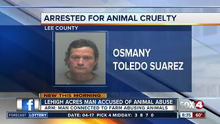 Lee County man accused of not giving farm animals water