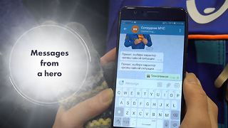 Can a telegram save your life? - Video