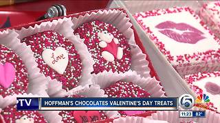 Hoffman's Chocolates offers tasty Valentine's Day treat - Video
