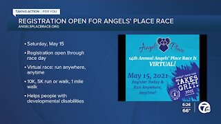 Registration still open for Angels' Place virtual race