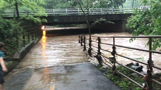 Flooding Hits Arlington After Thunderstorms Lash Washington State - Video