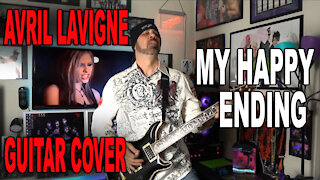 Avril Lavigne - My Happy Ending Guitar Cover