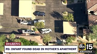 Infant found dead after being reported abducted in Chandler