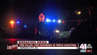1 dead, 2 injured in KCK triple shooting - Video