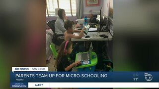 Parents in Poway join forces for 'micro-school' to help with distance learning