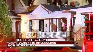 Deadly house fire on south side - Video