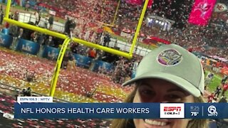 Local health care worker gets to experience Super Bowl