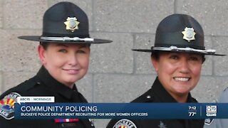Buckeye PD recruiting for more women officers