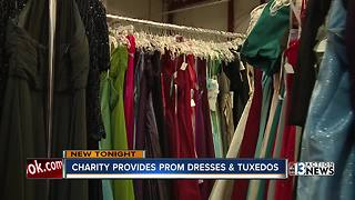 Las Vegas nonprofit provides prom dresses and tuxedos for free - Video