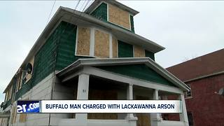 Buffalo man charged in Lackawanna fire that injured family - Video