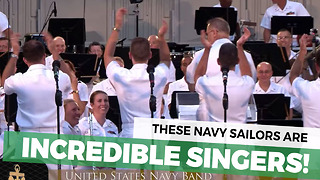 These Navy Sailors Are Incredible Singers - Video