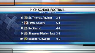 Mick Shaffer's weekly high school football ranking - Video