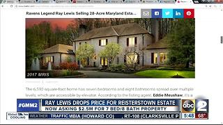 Ray Lewis drops price for Reisterstown home - Video