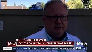 Doctor calls emergency room 'war zones' - Video