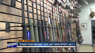 """Stand Your Ground"" law takes effect July 1"