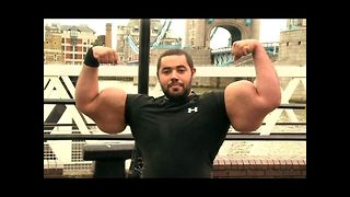 World's BIGGEST Biceps - Video