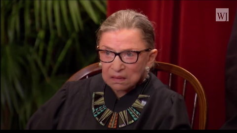 Ruth Bader Ginsburg Hospitalized After Suffering Injury in Fall