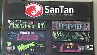How SanTan Brewing is recycling its CO2 to keep its beer carbonated, and to help out the earth
