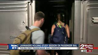 Lawmakers hold interim study on passenger rail - Video