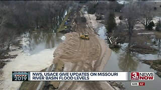 National Weather Service, U.S. Army Corps of Engineers update Missouri River Basin Flood Levels