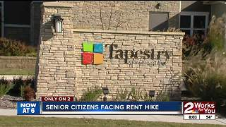 Rent almost doubling at senior living complex - Video