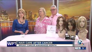 Hair care after cancer with Life's Changes