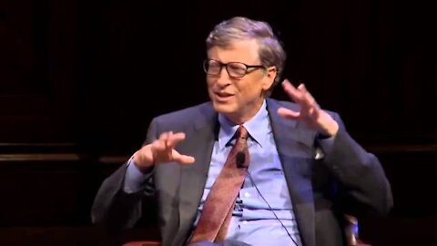 Bill Gates Reveals His Evil Agenda To Create A Vaccine That Removes Our Connection To God