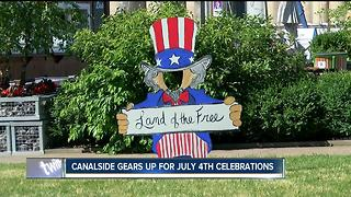 Canalside gears up for July 4th celebrations - Video