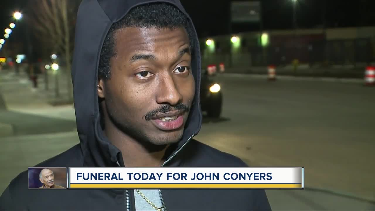 John Conyers' son speaks about father's legacy