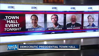 Democratic presidential candidates hold town hall in Milwaukee