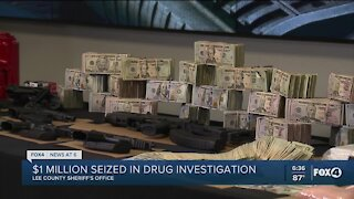 Six arrested in Lee County's largest drug bust
