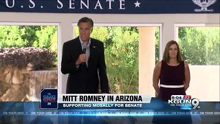 McSally urges people to vote in 'dead heat' race - Video