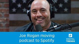 Joe Rogan's massive podcast is moving exclusively to Spotify