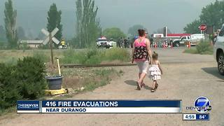 Colorado wildfires: 416 fire 15 percent contained; Burro Fire 0 percent contained - Video