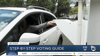 Step-by-step voting guide for San Diegans