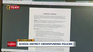 School districts adopting crowdfunding policies - Video