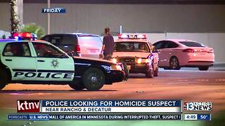 Police looking for homicide suspect - Video