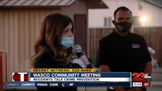 Wasco residents talk public safety at community meeting