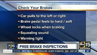 Free brake inspections in the Valley - Video