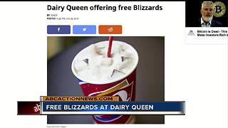 Dairy Queen offering free Blizzards - Video