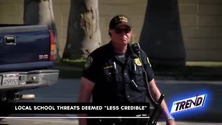 THE TREND: Local school threats deemed