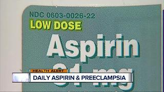 Can an aspirin a day keep a pregnancy complication away? - Video