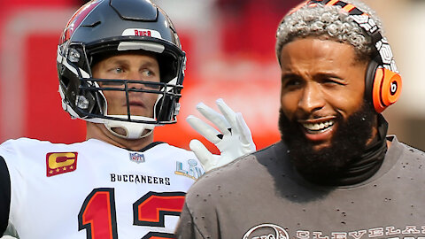 Odell Beckham Jr & Tom Brady Working On A Trade Plan That Would Allow Them To Play Together