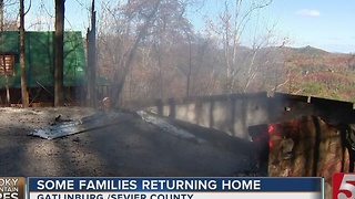 Crews Still Assessing Damage, Death Toll Rises In TN Wildfires - Video